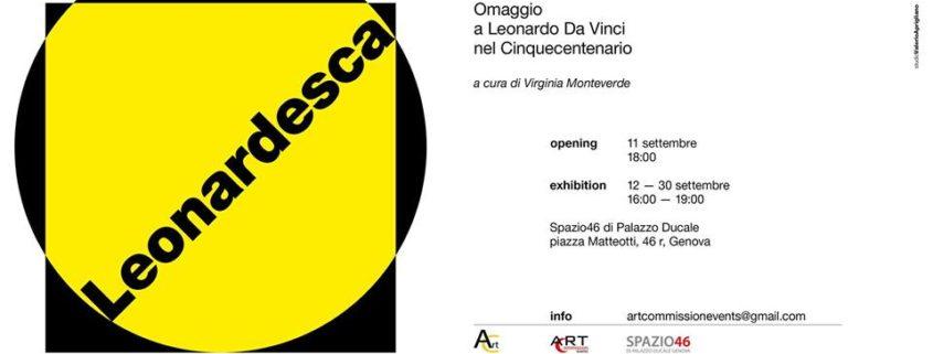 LEONARDESCA - Spazio46 di Palazzo Ducale - Genova