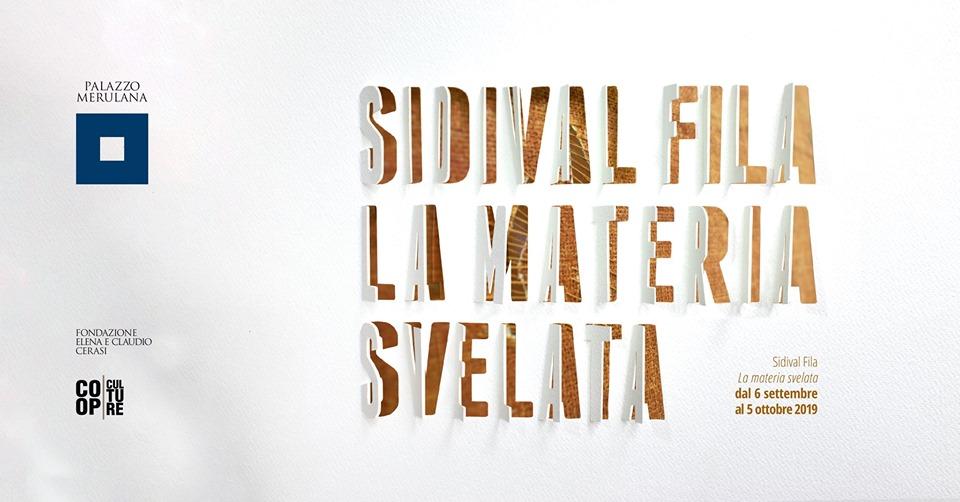 Sidival Fila - La materia svelata - Roma - MeloBox