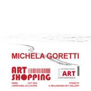Michela Goretti Art Shopping Paris 2019