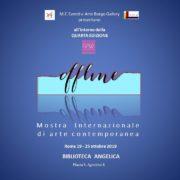 Off Line - Arte Borgo Gallery e M.F. Eventi - RAW - Rome Art Week