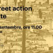 Una street action per l arte Napoli Museo Madre e Cleanap