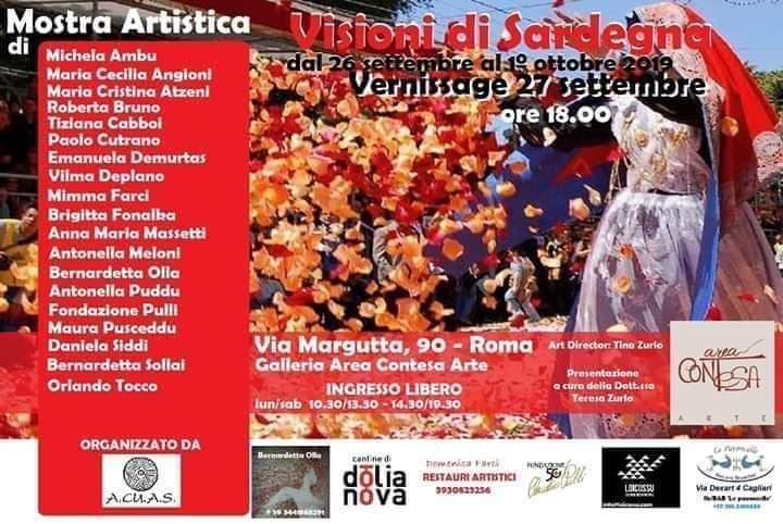 VISIONIVISIONI di Sardegna - Area Contesa Arte - Roma