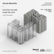 Alessio Barchitta Fluid like concrete - Amy d arte spazio - Milano