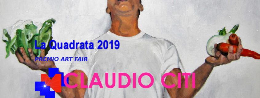 Claudio Citi - ArtePadova 2019 - Premio Art Fair- La Quadrata 2019