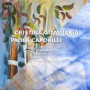 Cristina Giammaria e Paola Caporilli Il Melograno Art Gallery Livorno