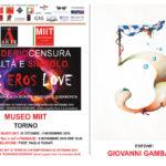 Giovanni Gambasin Museo Mit Torino Sex Eros Love