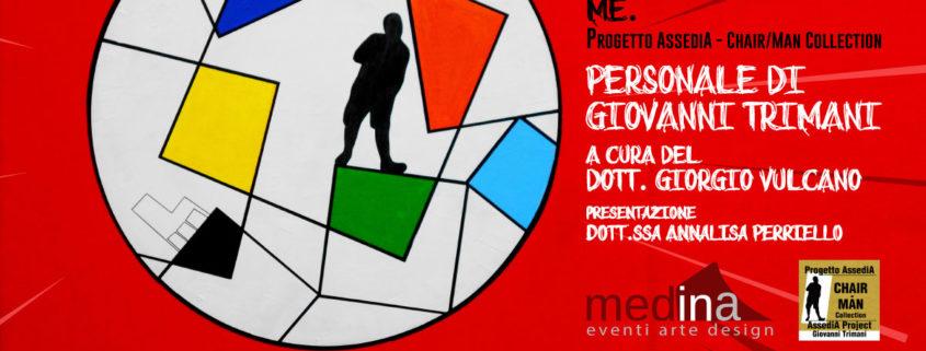 Giovanni Trimani - Now. Here. Me - Medina - Roma