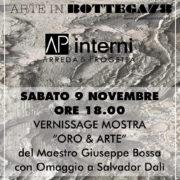Giuseppe Bossa Oro e Arte in Bottega 78 Parma