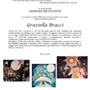 Graziella Bracci mostra Ponsacco Villa Elisa
