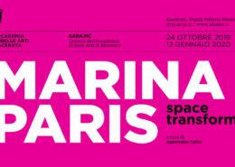Marina Paris - Space Transformer - Galleria Accademia di Belle Arti di Macerata