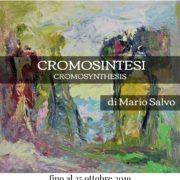 Mario Salvo Cromosintesi mostra Milano 2019