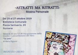 Michele Carmelo Bellezza Mostra Numana 2019