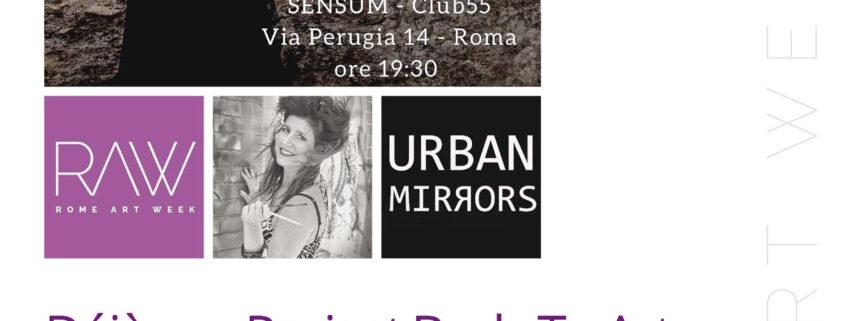 Monica Argentino Performance - Club55 Pigneto - Rome Art Week
