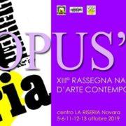 Opus Rassegna 2019 La Riseria Novara