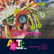 Paul Kostabi Arte Padova 2019 Il Melograno Art Gallery