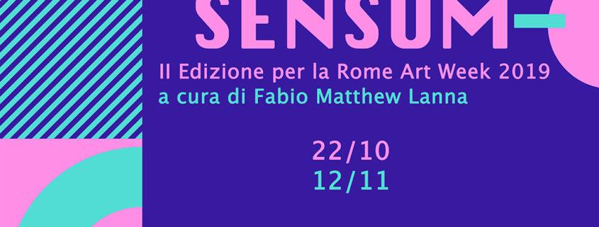 SENSUM - Rome Art Week - Urban Mirrors - Club55 Pigneto