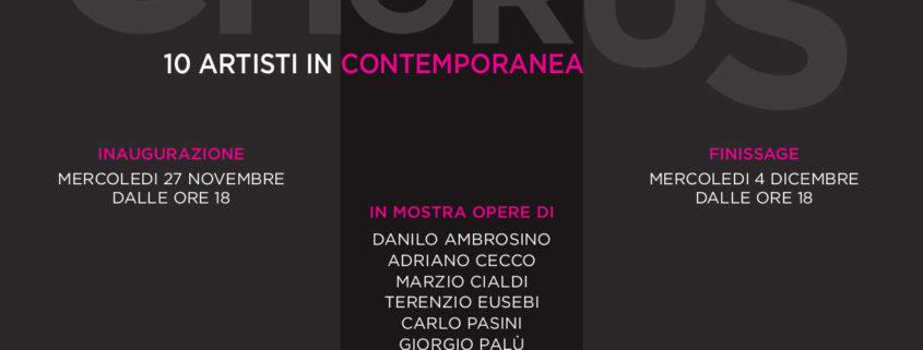 CHORUS - 10 Artisti in Contemporanea - M.A.C - Milano Ilaria Centola e Valerio Dehò