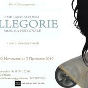Emiliano Alfonsi - Allegorie - Spazio Faro - Roma
