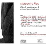 Giordano Morganti - Art Riga Fair 2019