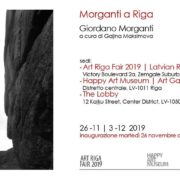 Giordano Morganti - Art Riga Fair 2019