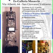 Maurizio Palei - Oblio e Nuove Identità - Ex-Galleria Masaccio - Firenze