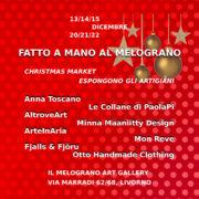 Mercatino di Natale con gli artigiani al Melograno Art Gallery Livorno