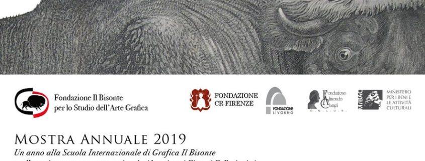 Mostra Annuale 2019 - Fondazione Il Bisonte Firenze