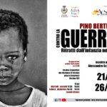 CONTRO LA GUERRA. RITRATTI DALL'INFANZIA NEGATA - Pino Bertelli - Cecina