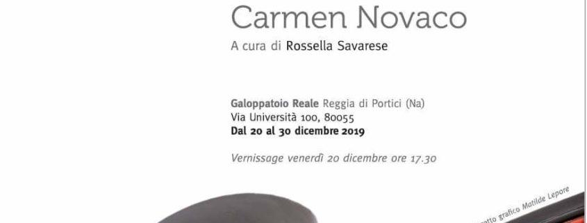 Carmen Novaco - ESSENZE - Reggia di Portici