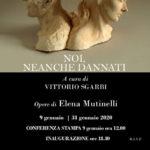 Elena Mutinelli NOI, NEANCHE DANNATI mostra Firenze a cura di Vittorio Sgarbi
