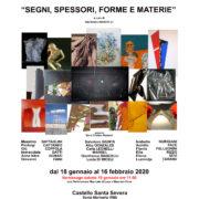 Flavio Pellegrini - SEGNI SPESSORI FORME E MATERIE - Santa Marinella - Roma