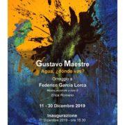 Gustavo Maestre - Agua, donde vas? - Prato