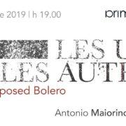 LES UNS ET LES AUTRES - Galleria PrimoPiano – Napoli