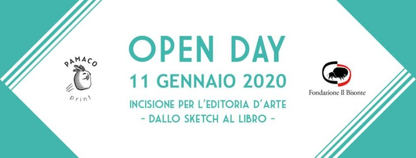 OPEN DAY incisione per l'editoria d'arte