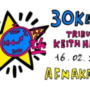 tributo a Keith Haring - galleria Afnakafna - Roma