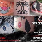 Aperitivo e mostra C&C Street Art live painting in Torre Giulia - S.Romano - Pisa