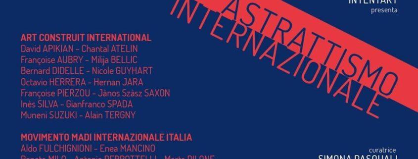 Astrattismo Internazionale - Spazio Martucci 56 - Napoli