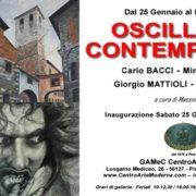 Carlo BACCI Mimmo CORRADO Giorgio MATTIOLI Germana SALVINI - Gamec - Pisa