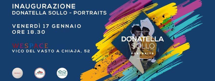 Donatella Sollo - Potraits - WeSpace e L'Anguilla - Napoli