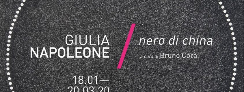 Giulia Napoleone - Nero di china - Galleria Il Ponte - Firenze