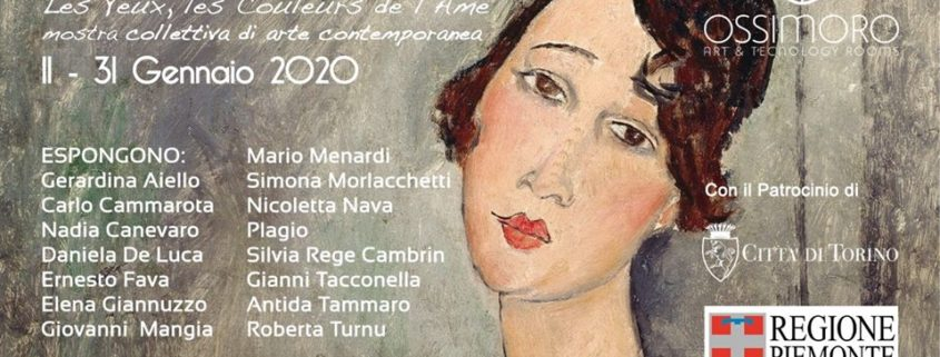 Gli occhi, i colori dell_anima - Amedeo Modigliani 100- Ossimoro Art Gallery - Torino