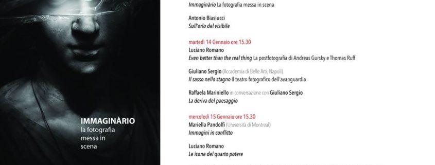 La fotografia messa in scena - Istituto Italiano per gli Studi Filosofici - Napoli