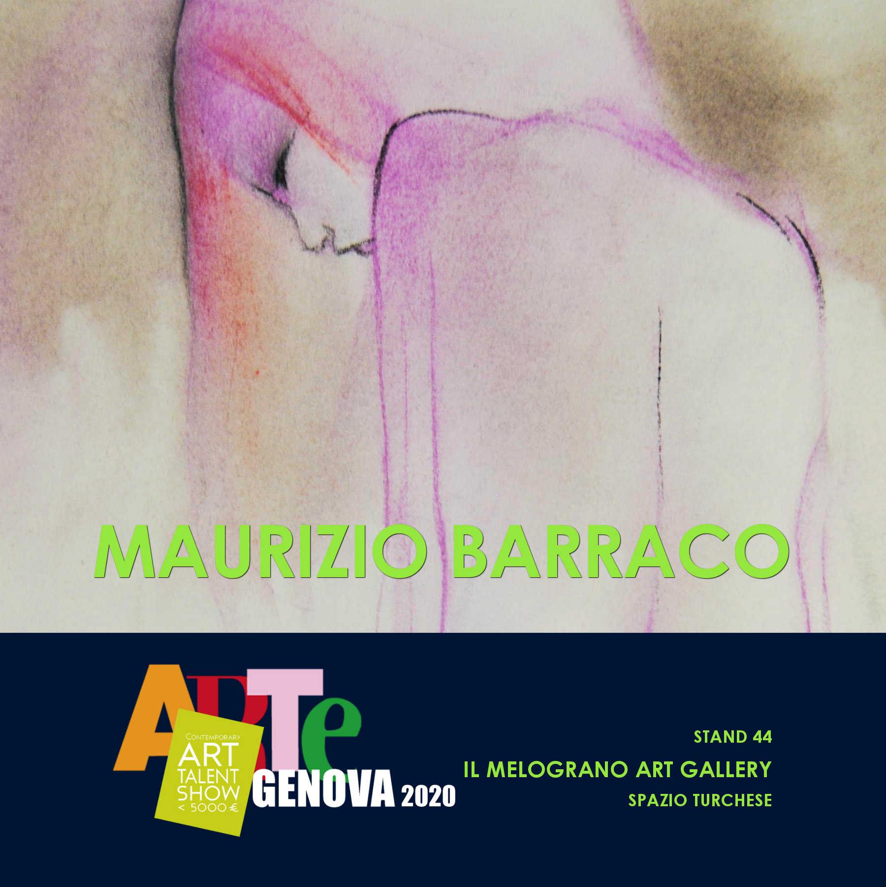 La Vena Artistica Genova maurizio barraco - artegenova 2020 - il melograno art