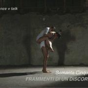 Samanta Cinquini e Luca Nava- VIDEO-PERFORMANCE - Luogo_e - Bergamo