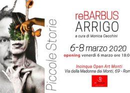 Alessandro Arrigo e Re Barbus - Piccole Storie - Incinque Open Arti Monti - Roma