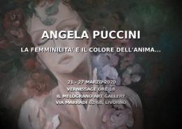 Angela Puccini mostra personale Il Melograno Art Gallery Livorno