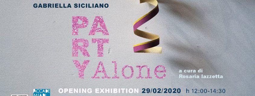 Gabriella Siciliano - PARTY ALONE - Gabriella Siciliano - PARTY ALONE