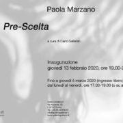 Paola Marzano - Pre-Scelta - Galleria Gallerati - Roma