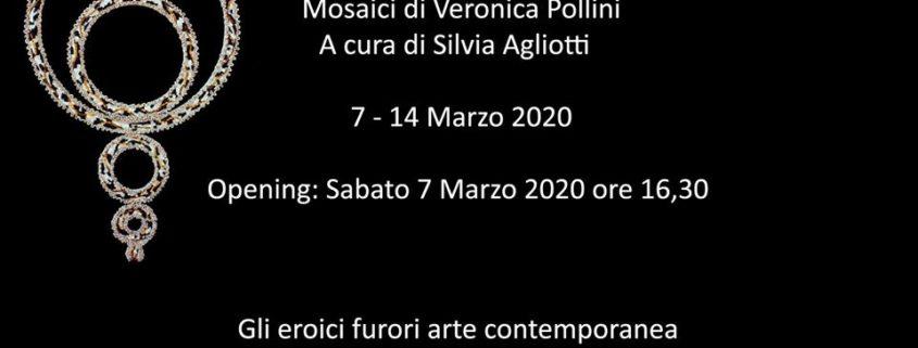 Veronica Pollini Mondi Circolari mostra a Milano gli eroici furori