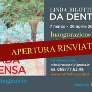 naugurazione Da Dentro di Linda RIgotti e Giorgia Valmorri